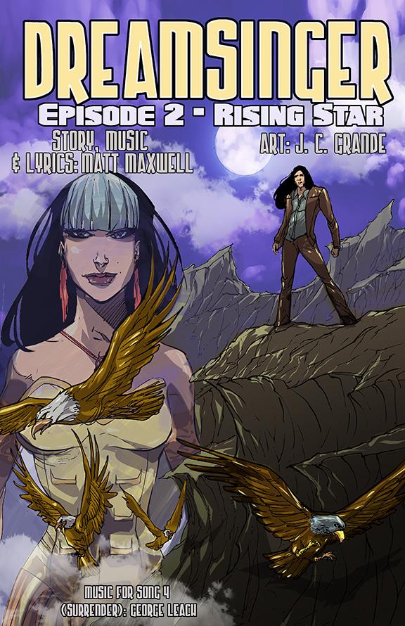 Dreamsinger Episode 2 Cover